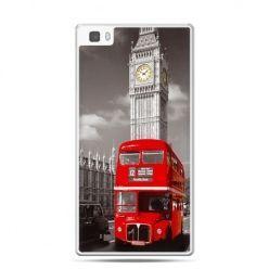 Huawei P8 etui czerwony autobus londyn
