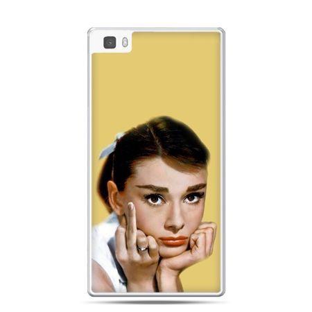 Huawei P8 etui Audrey Hepburn Fuck You