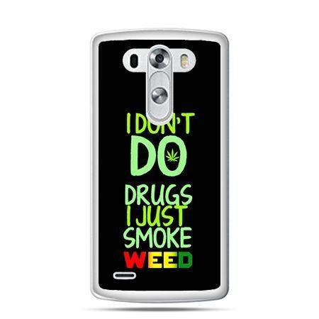 LG G4 etui I don't do drugs