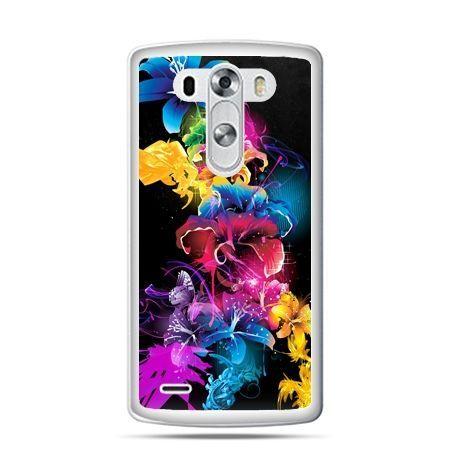LG G4 etui kolorowe kwiaty