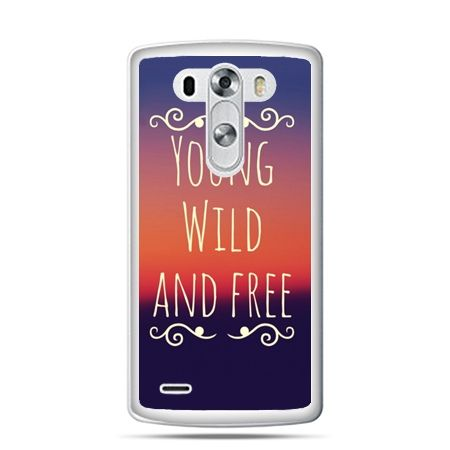 LG G4 etui Young wild and free
