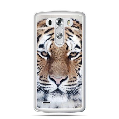 LG G4 etui śnieżny tygrys