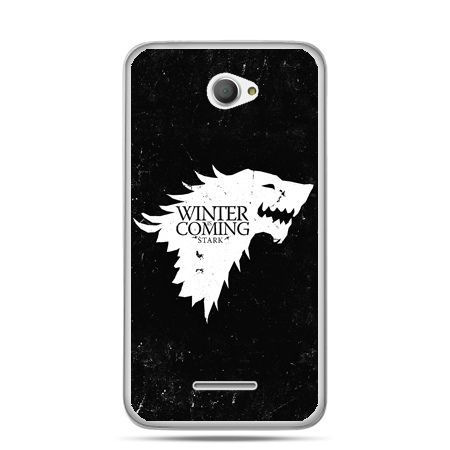 Xperia E4 etui Winter is coming