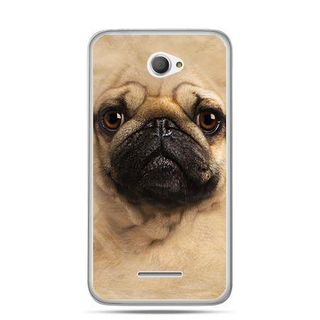 Xperia E4 etui pies szczeniak Face 3d