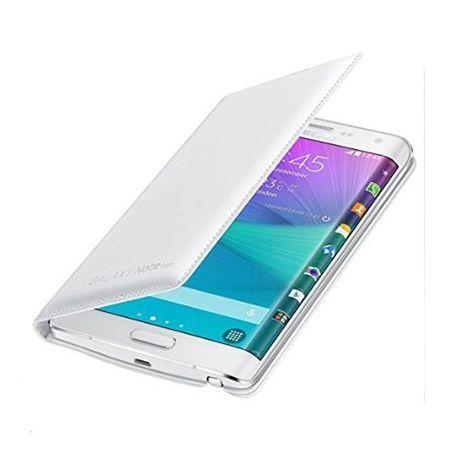 Galaxy Note Edge  etui Flip Wallet skóra białe.