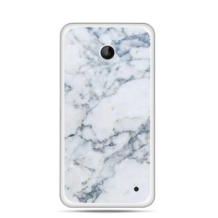 Nokia Lumia 630 etui biały marmur