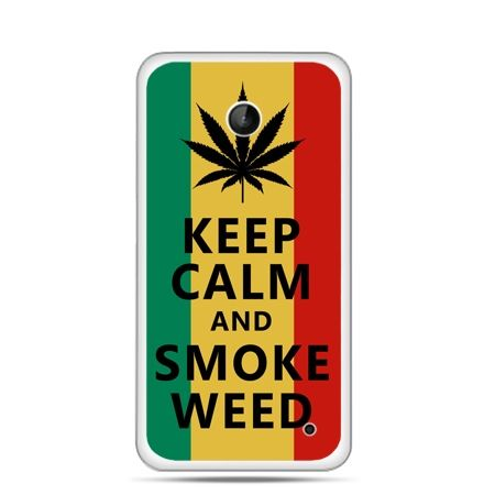 Nokia Lumia 630 etui Keep Calm and Smoke Weed