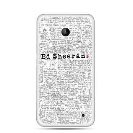 Nokia Lumia 630 etui Ed Sheeran białe poziome