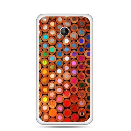 Nokia Lumia 630 etui kolorowe kredki