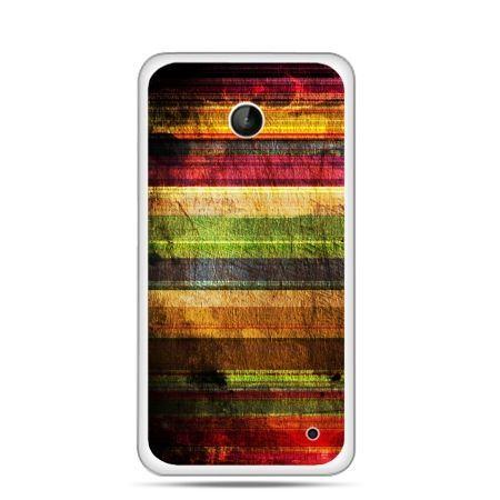 Nokia Lumia 630 etui kolorowe deski