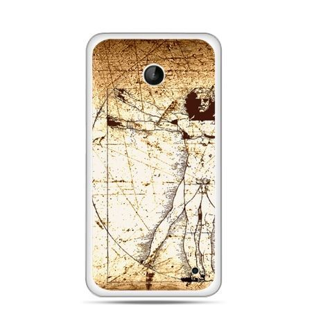 Nokia Lumia 630 etui człowiek witruwiański