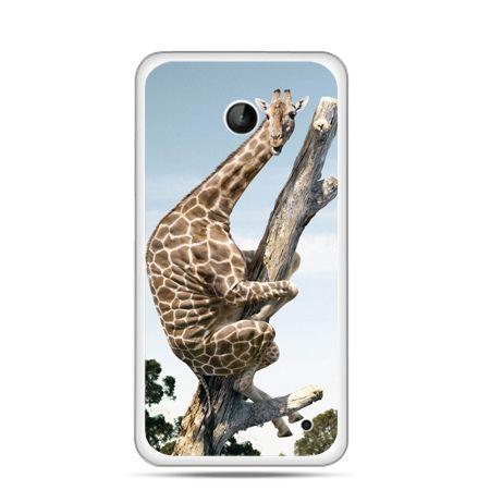 Nokia Lumia 630 etui śmieszna żyrafa