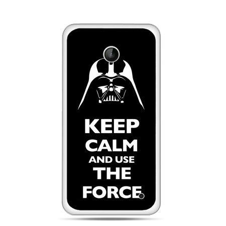 Nokia Lumia 630 etui Keep calm and use the force