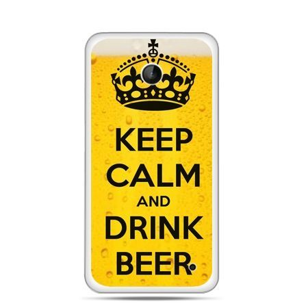 Nokia Lumia 630 etui Keep calm and drink beer