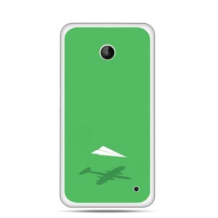 Nokia Lumia 630 etui samolot z papieru