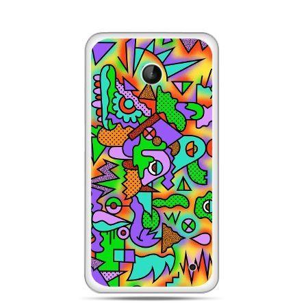 Nokia Lumia 630 etui kolorowa abstrakcja