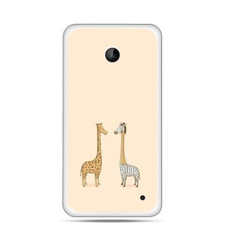 Nokia Lumia 630 etui żyrafy