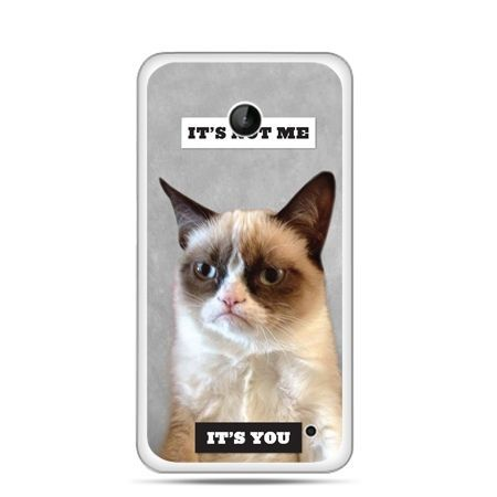 Nokia Lumia 630 etui grumpy kot zrzęda