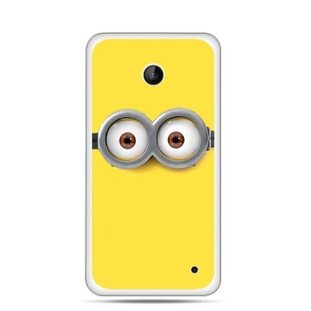 Nokia Lumia 630 etui oczy Minionka, Minionki