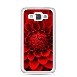 Etui na Galaxy A5 Czerwona dalia