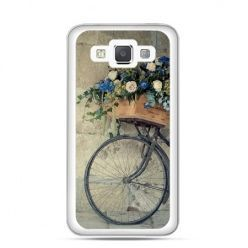 Etui na Galaxy A5 Rower z kwiatami