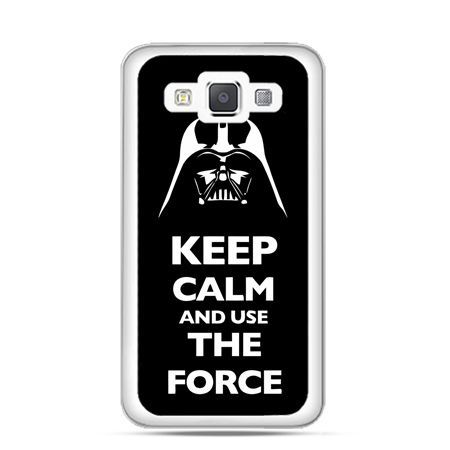 Etui na Galaxy A5 Keep calm and use the force