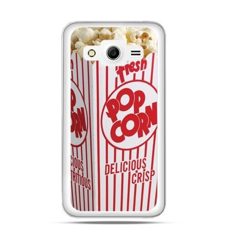 Etui na Galaxy Core 2 Pop corn