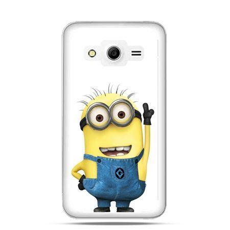 Etui na Galaxy Core 2 Wesoły minionek ,minionki