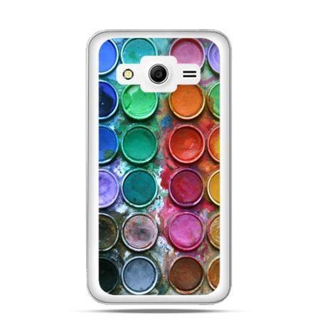 Etui na Galaxy Core 2 Kolorowe farbki