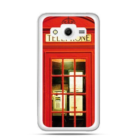Etui na Galaxy Core 2 Czerwona budka telefoniczna