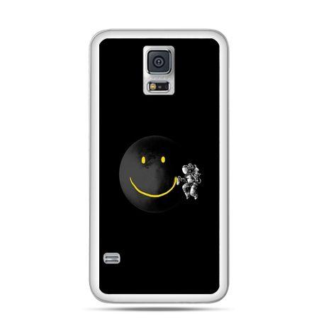 Etui na Samsung Galaxy S5 mini Uśmiechnięta planeta