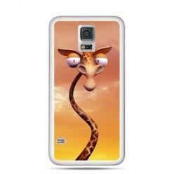 Etui na Samsung Galaxy S5 mini śmieszna żyrafa