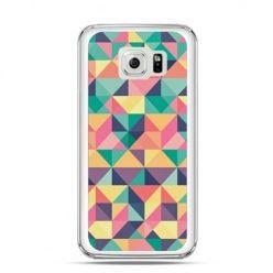 Etui na Galaxy S6 Kolorowe trójkąty