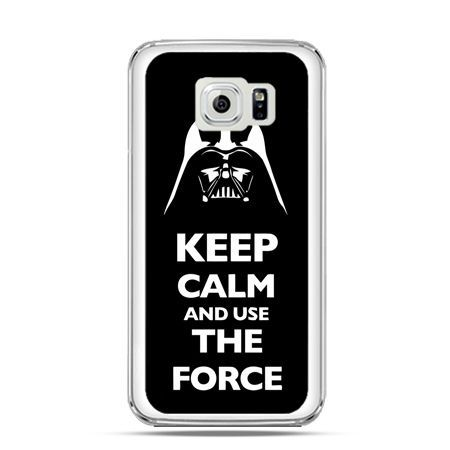 Etui na Galaxy S6 Keep calm and use the force