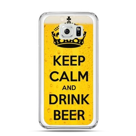 Etui na Galaxy S6 Keep calm and drink beer