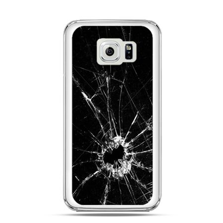 Etui na Galaxy S6 Edge Rozbita szyba