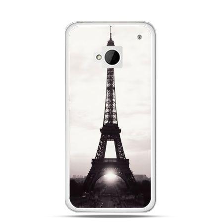 Etui na HTC One M7 Wieża Eiffla