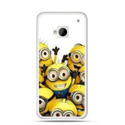 Etui na HTC One M7 Minionki