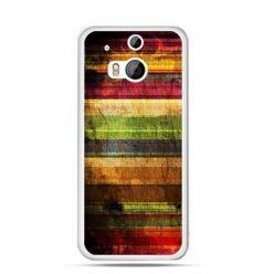 Etui na HTC One M8 Kolorowe deski