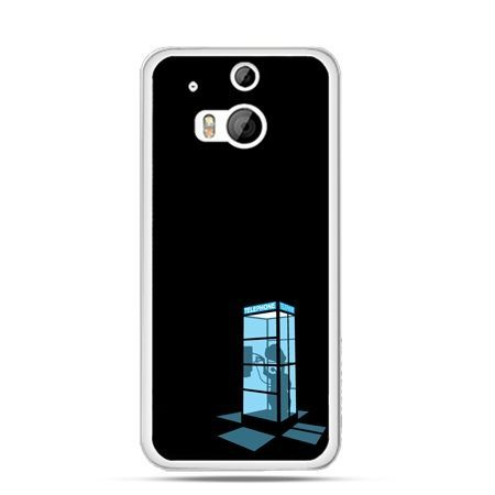 Etui na HTC One M8 Nocna budka telefoniczna
