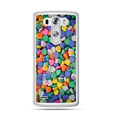 Etui na LG G3 Slodkie serduszka