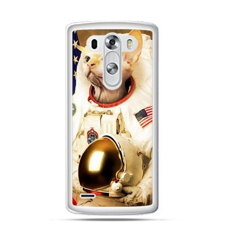 Etui na LG G3 Kot astronauta