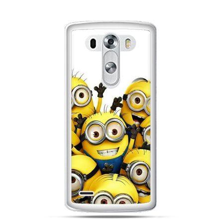 Etui na LG G3 Minionki