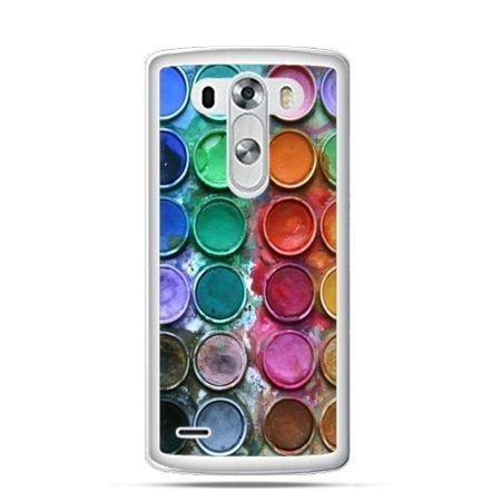 Etui na LG G3 Kolorowe farbki