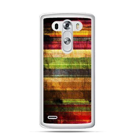 Etui na LG G3 Kolorowe deski