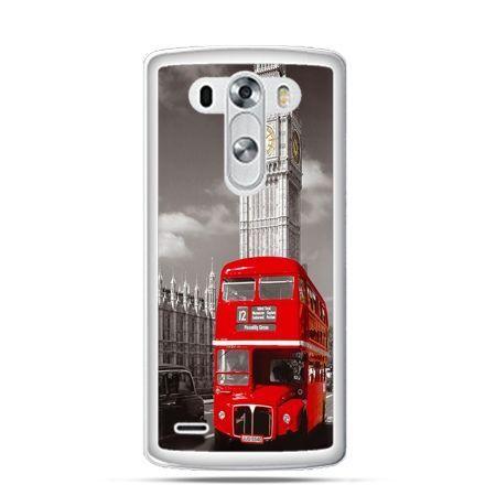 Etui na LG G3 Czerwony autobus londyn