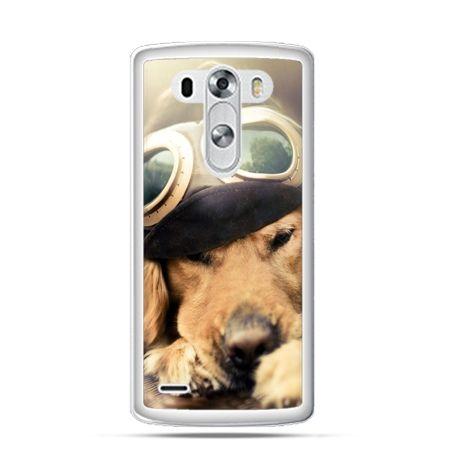 Etui na LG G3 Pies w okularach