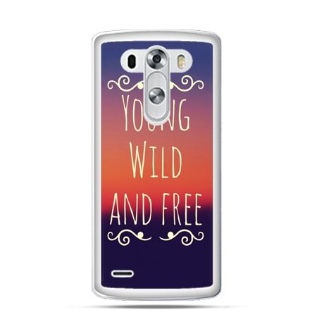 Etui na LG G3 Young wild and free