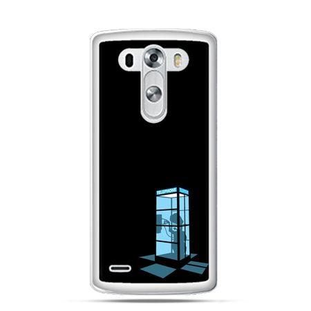 Etui na LG G3 Nocna budka telefoniczna
