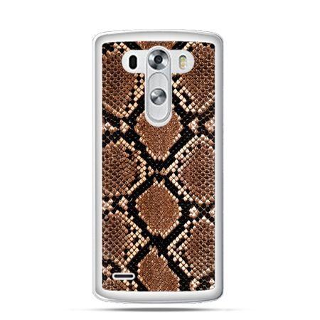 Etui na LG G3 Skóra węża